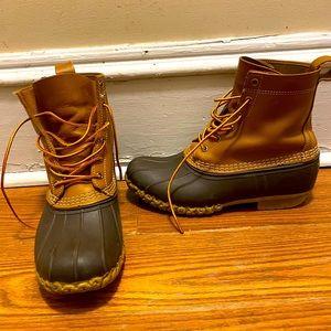 LL Bean bean boots size 9 men's